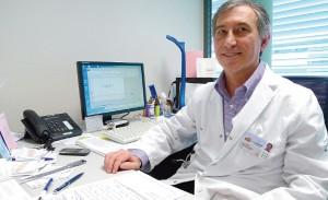Joan Figuerola, jefe del Servicio de Pediatría del HUSE