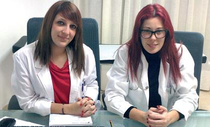 La psicóloga Estefanía González Torres y la enfermera Paloma Ortega forman parte de la Unidad de Sexología del Hospital de Llevant, recientemente inaugurado en Portocristo