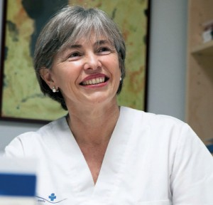 La doctora Maríá Jesús Ferrer.