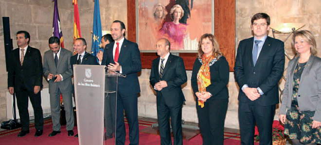 El presidente Bauzá felicita la Navidad y augura la continuidad de la tendencia positiva