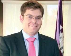 Martí Sansaloni, conseller de Salud.
