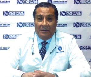 El doctor Antonio Vega Medinaceli.