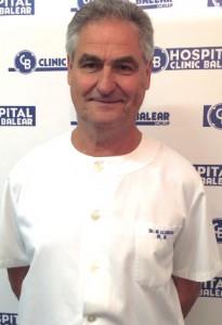 El doctor Miguel Llobera.