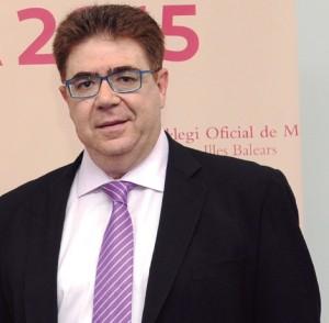 ANTONI BENNASAR, PRESIDENTE DEL COLEGIO OFICIAL DE MÉDICOS DE BALEARES