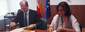 Firma de la renovación del acuerdo entre Spaincares y la Secretaría de Estado de Turismo
