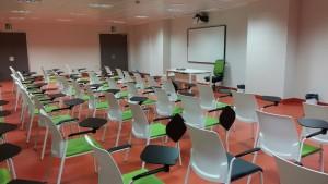 Imagen de las aulas de Son Espases, inicialmente diseñadas para albergar a los estudiantes de Medicina de la UIB