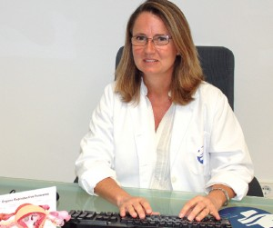 Paula Alcácer, ginecóloga del Hospital de Llevant.
