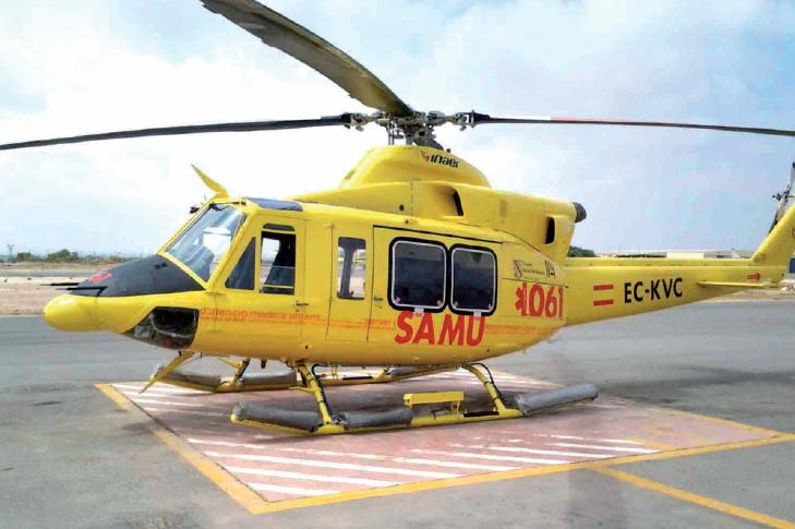 El Gobierno de Baleares adjudica el contrato de medios aéreos del 061 SAMU