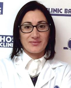 La Dra. Antonietta Di Miscia.