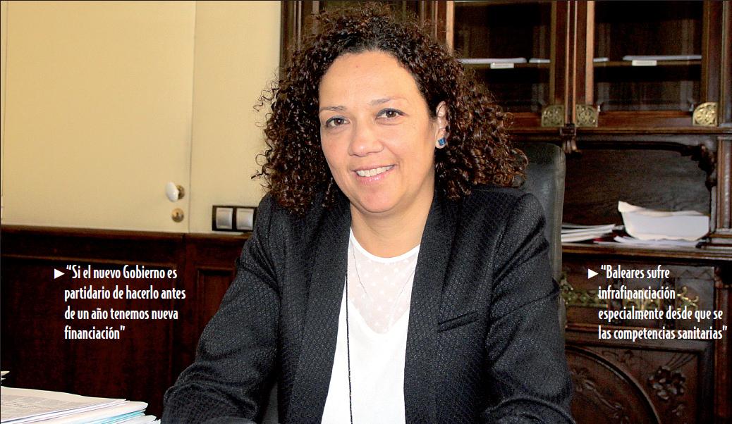 CATALINA CLADERA / CONSELLERA DE HACIENDA Y ADMINISTRACIONES PÚBLICAS