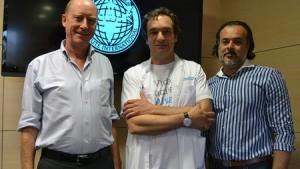 Grant Watson, Dr. Marcello Meli, Jorge Lledó.
