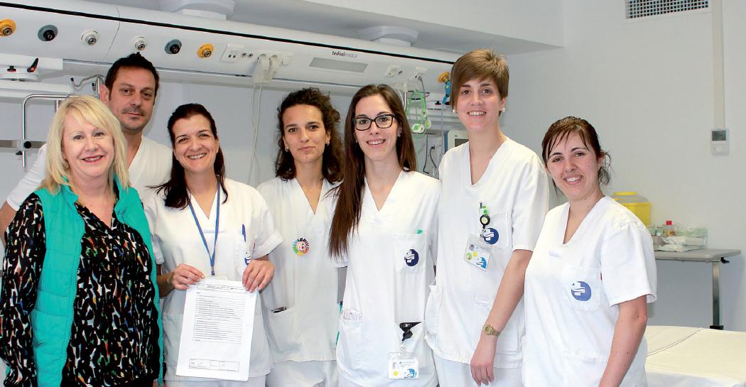Pilar Martínez asume la Coordinación de Enfermería del Complex Sanitari de Llevant, con miembros de su equipo