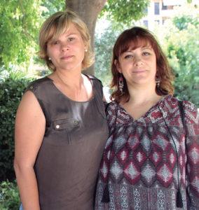 Judith Carrasco y Marianela Pintos, madres de niños afectados e impulsoras de la Asociación Enfermedad de Kawasaki (ASENKAWA).