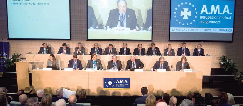A.M.A. es la única compañía especializada en Seguros para profesionales sanitarios y ya cuenta con 600.000 asegurados.