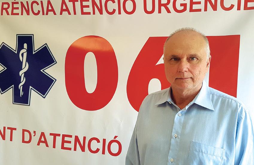 DOCTOR ANTONIO BELLVER, GERENTE DEL SAMU 061