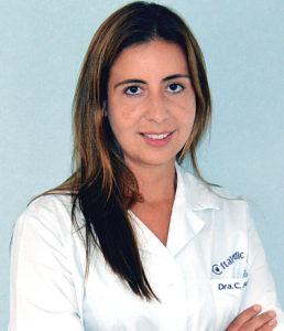 Dra. Catalina Arboleda, oftalmóloga de Oftalmedic Clínica Salvà
