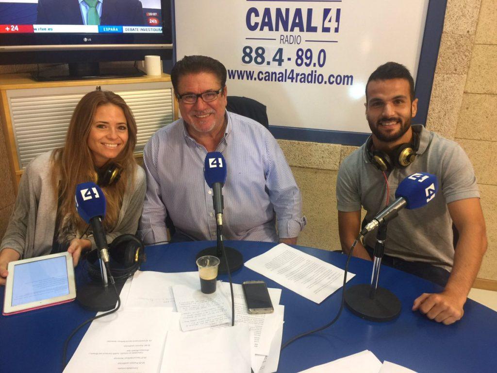 Miquel Bestard,d' @IllesCW ens explica a @Canal4Radio l'app 'Illes training' per controlar seu entrenament,resultats,horaris i interactuar
