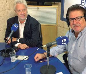 Gabriel Uguet, director general del Complejo Sanitario de Llevant, visitó Canal 4 Radio