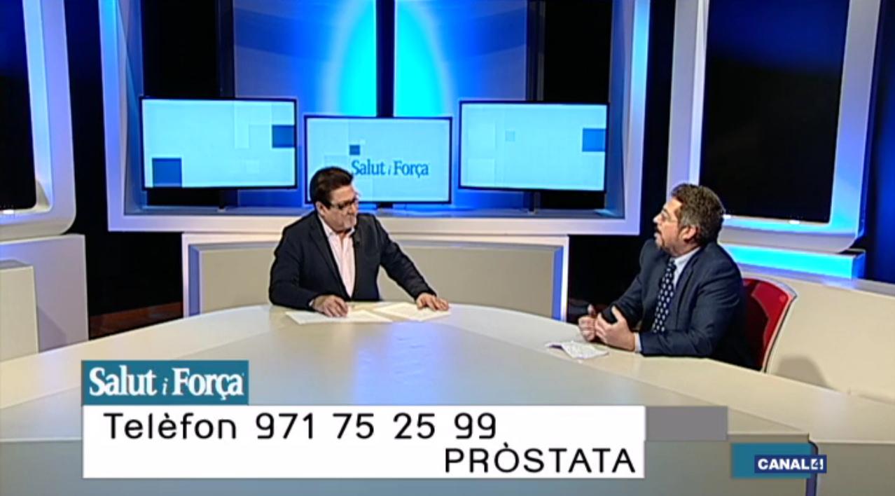 La pròstata amb el Dr. Benejam, Cap dUrologia del Grup