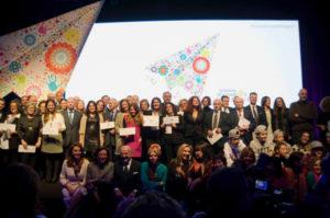 Acto de entrega de los Premios Solidarios del Seguros