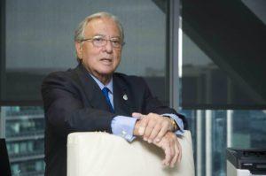 El presidente de A.M.A, el doctor Diego Murillo.