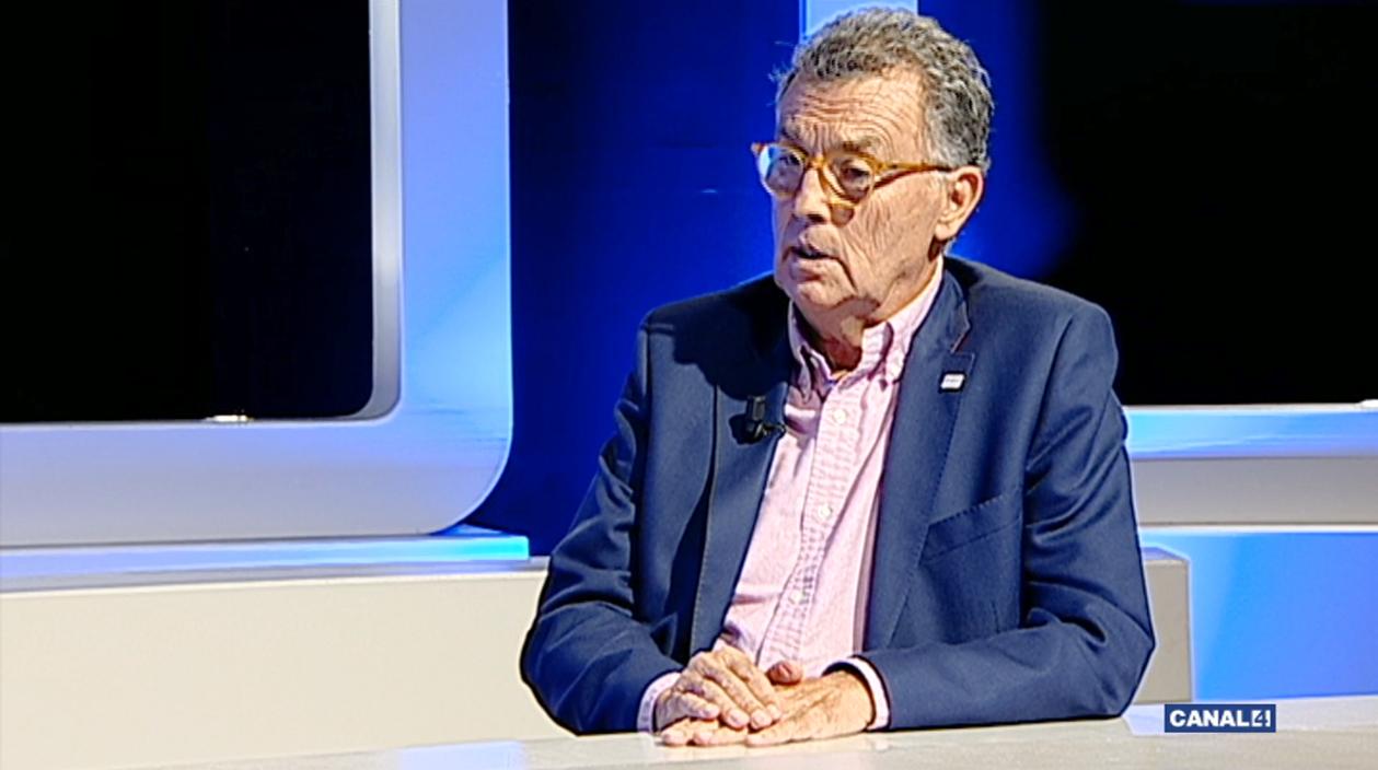El nutricionista Pedro Marimón conversa amb Joan Calafat