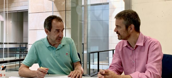 Marc Pérez-Ribas y Juan Manuel Gómez